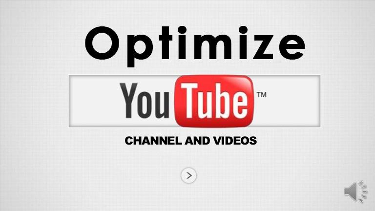 YouTube Channel&Videos SEO Optimization