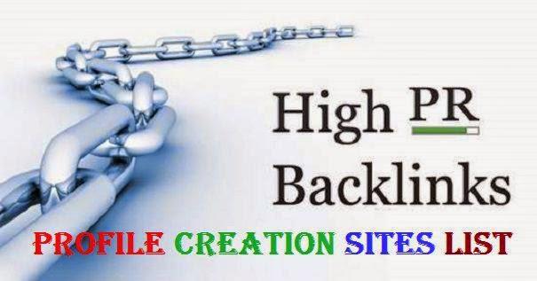 50 Authority Profile Backlinks