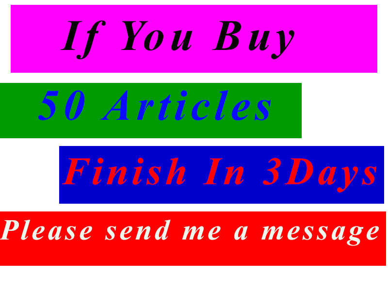 Article,  Bookmarking or Blog Posting 50