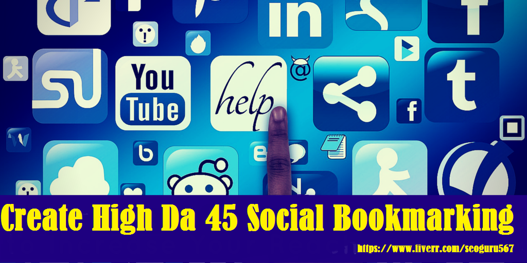 Build Manually 45 Live Social Bookmarking effective backlinks in off page SEO