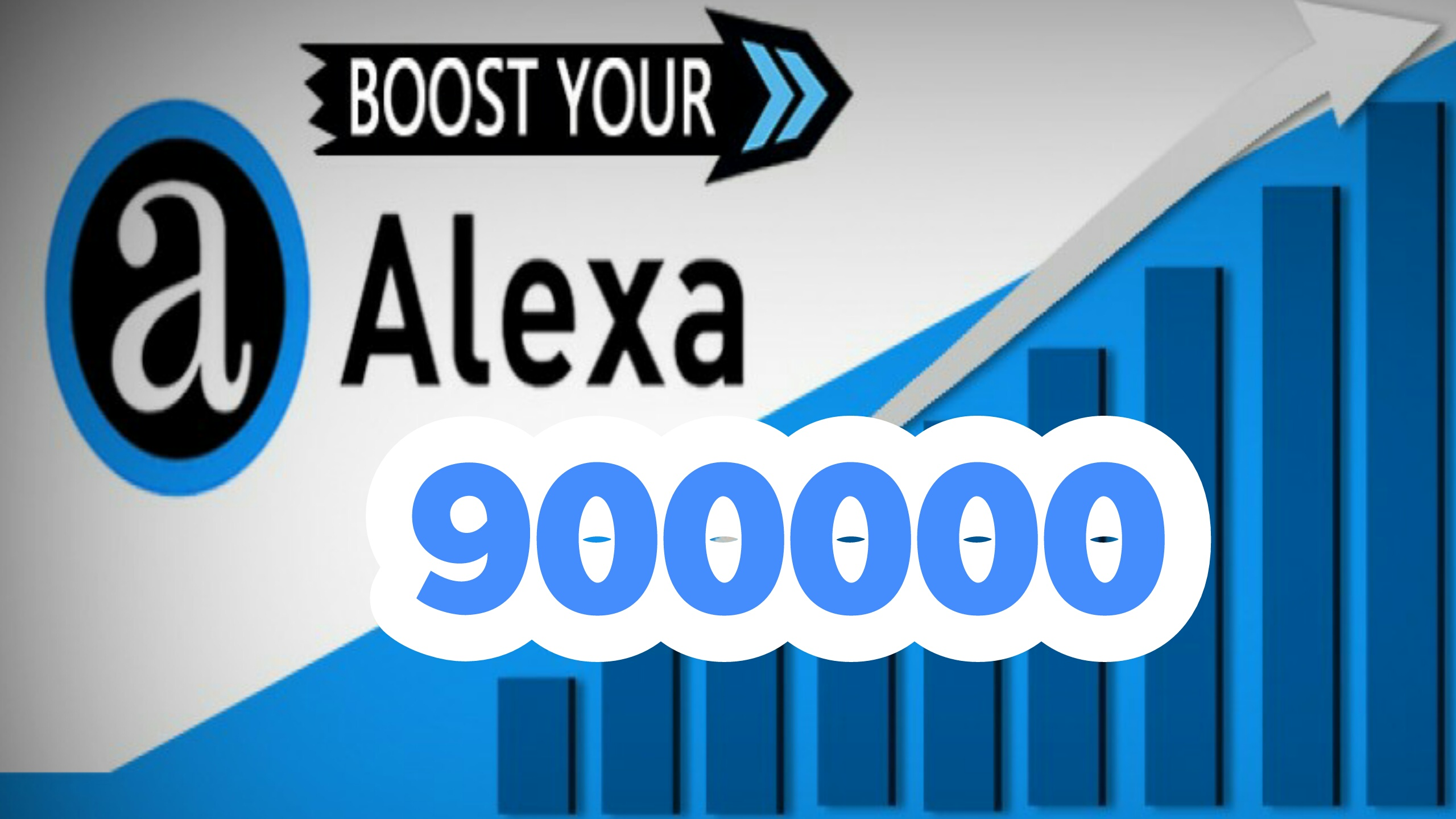 Reducing the order of alexa to 900k worldwide