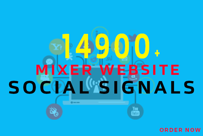 Boost Your Website Share  PR 14900+ Powerful Social Signals with super fast speed