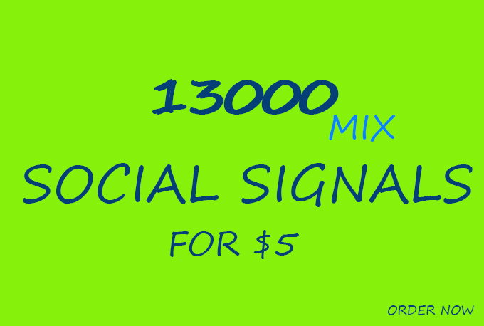 Boost Your Website Share  PR 13000 Powerful Social Signals with super fast speed