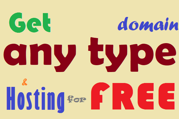 Unlimited (.com/.net/.org...) Domains & 25 GB Hosting with each domain for FREE