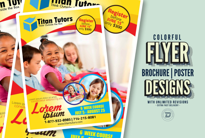 Design Creative Flyer, Brochure Or Poster Quickly