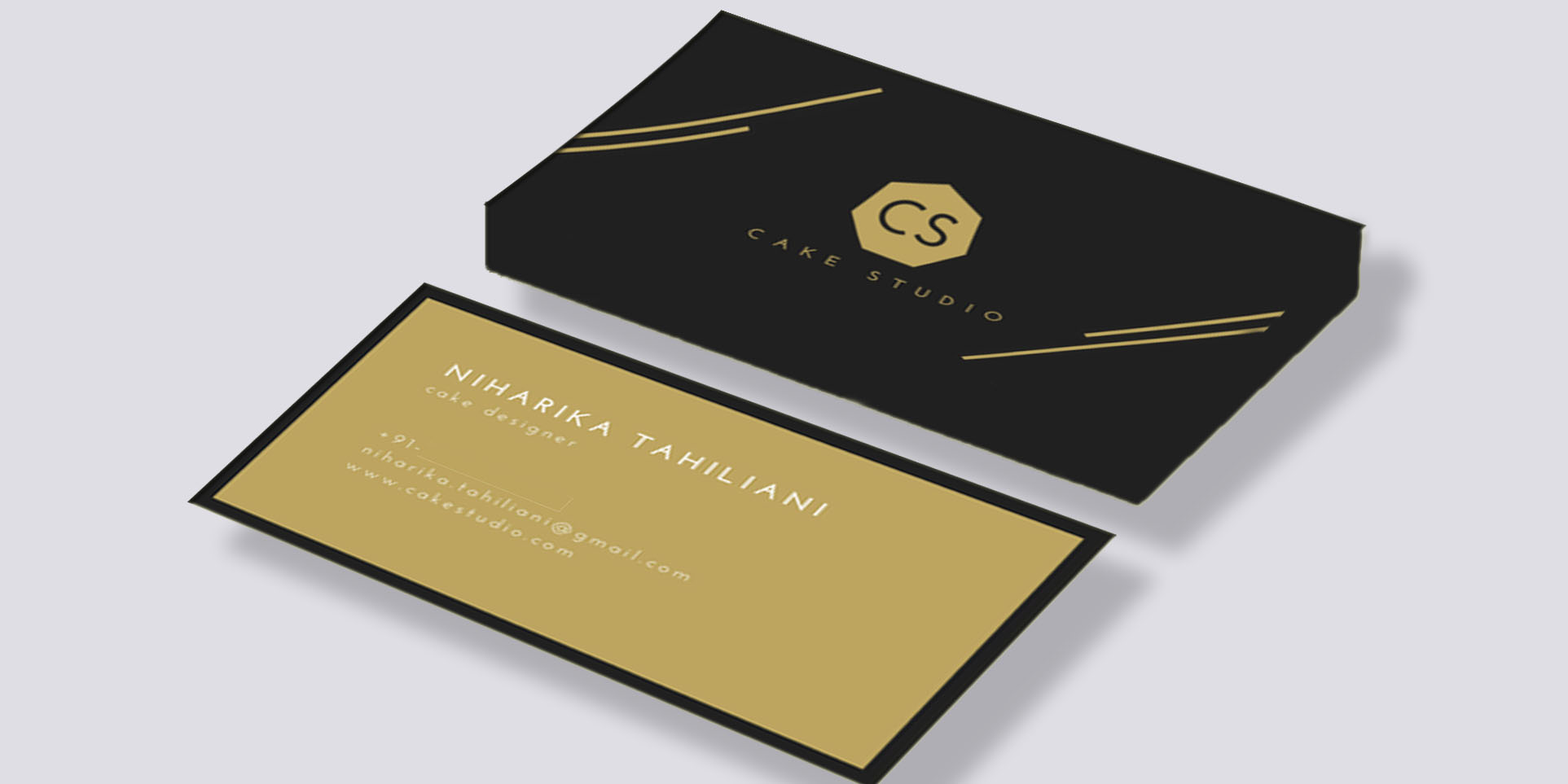 Design Business Card And Do 2 Realistic Mock Ups