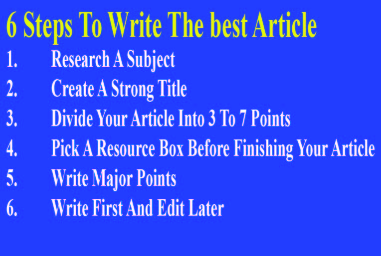 500 words 100 unique SEO friendly and readable article.