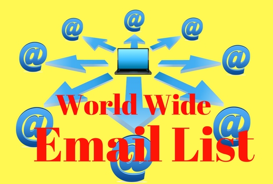 provide any country Verify 50 k email list