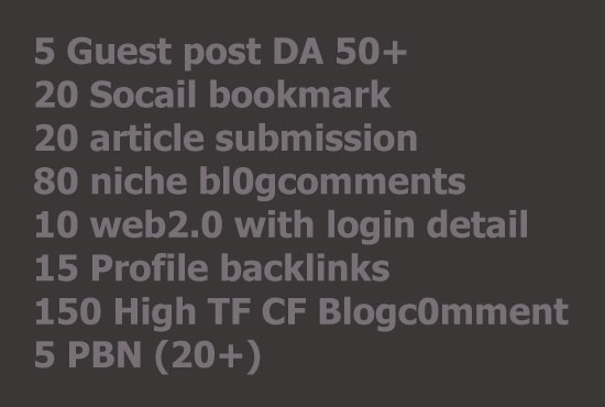 Manual SEO Link Building For Higher Rankings
