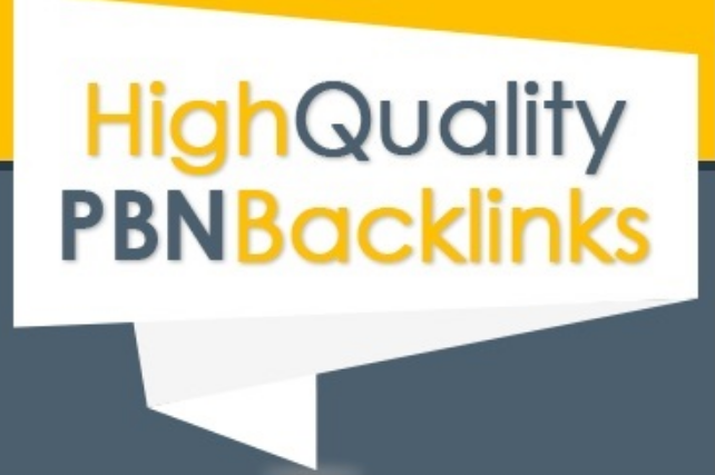 25 Unique PBN guest posts Backlinks from High Quality domains