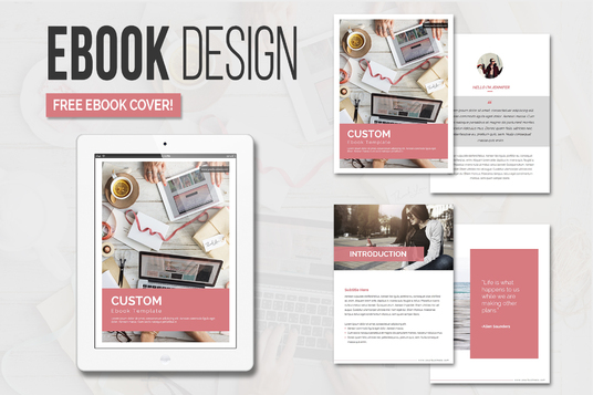 Design E-Books And it's Cover For you
