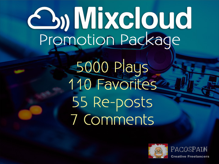 MixCloud package
