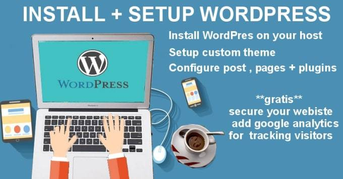 Install Wordpress on your server and add a PAID theme on it FREE with all necessary plugins for $2