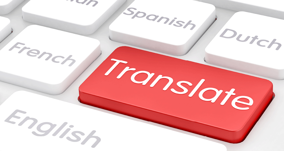Translation English To German Chinese Danish Or Spanish For 10