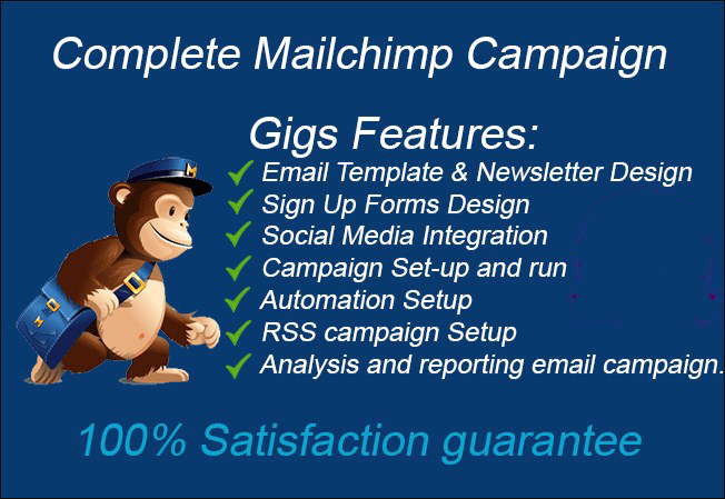 Do setup mailchimp list campaign email template auto for Mailchimp create template from campaign