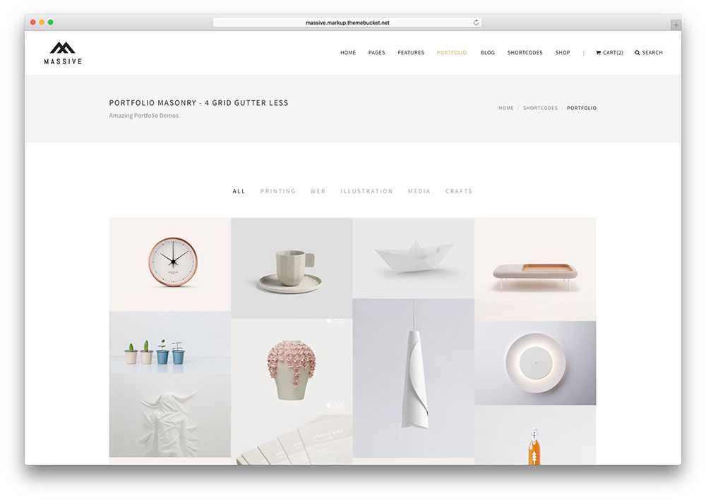 Create Portfolio Design Website For You