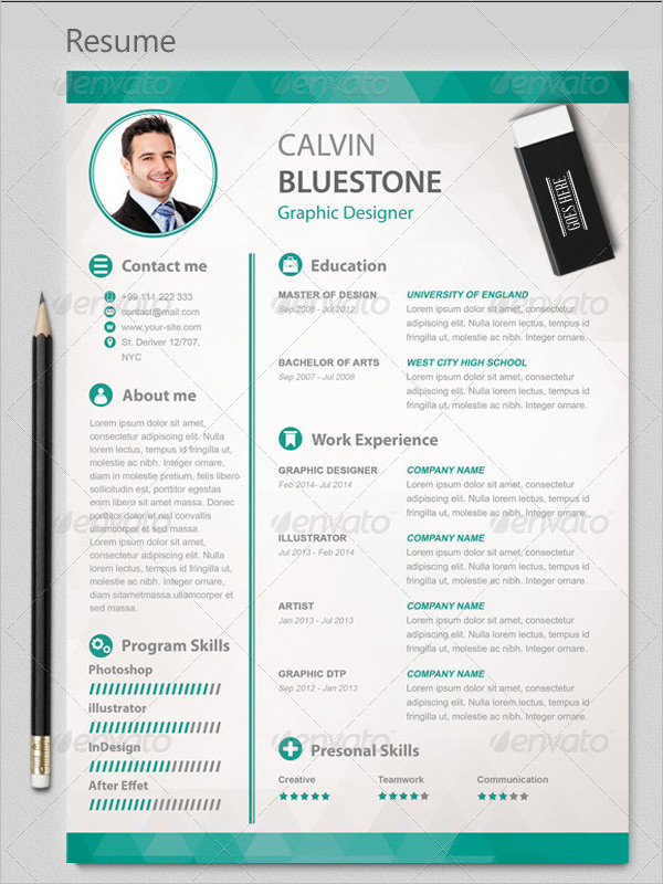 edit and design a resume  curriculum vitae  cover letter for  10
