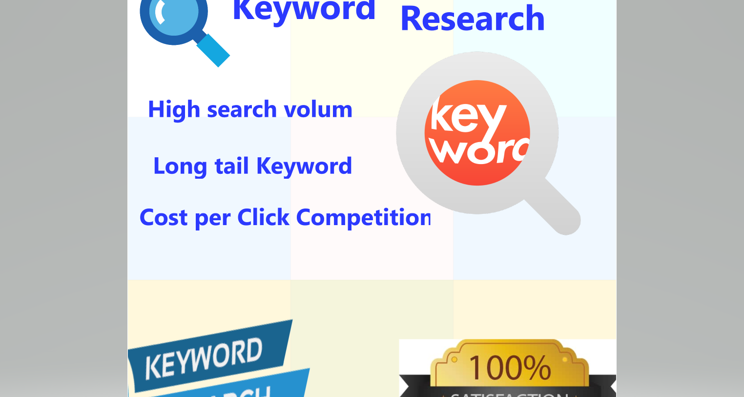 Keyword Research And Competitor Research