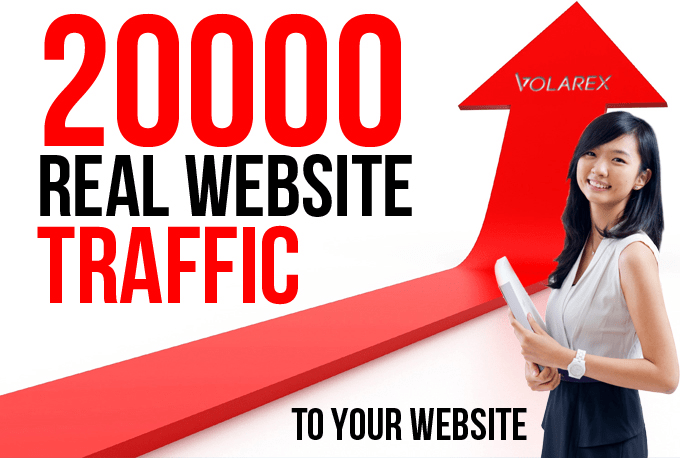I will increase your website real traffic by 20k from facebook or social media network