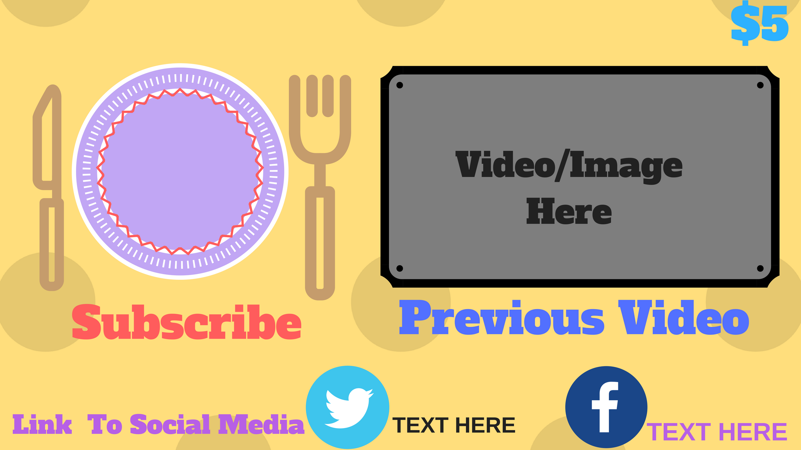 Standard Outro For Food Channels