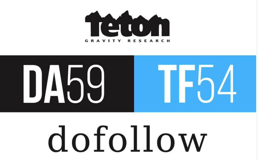 Write & Publish a Premium guest post on Tetongrav...