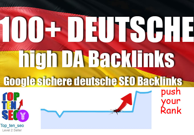 100 plus high authority german backlinks Premium 100+ Backlinks