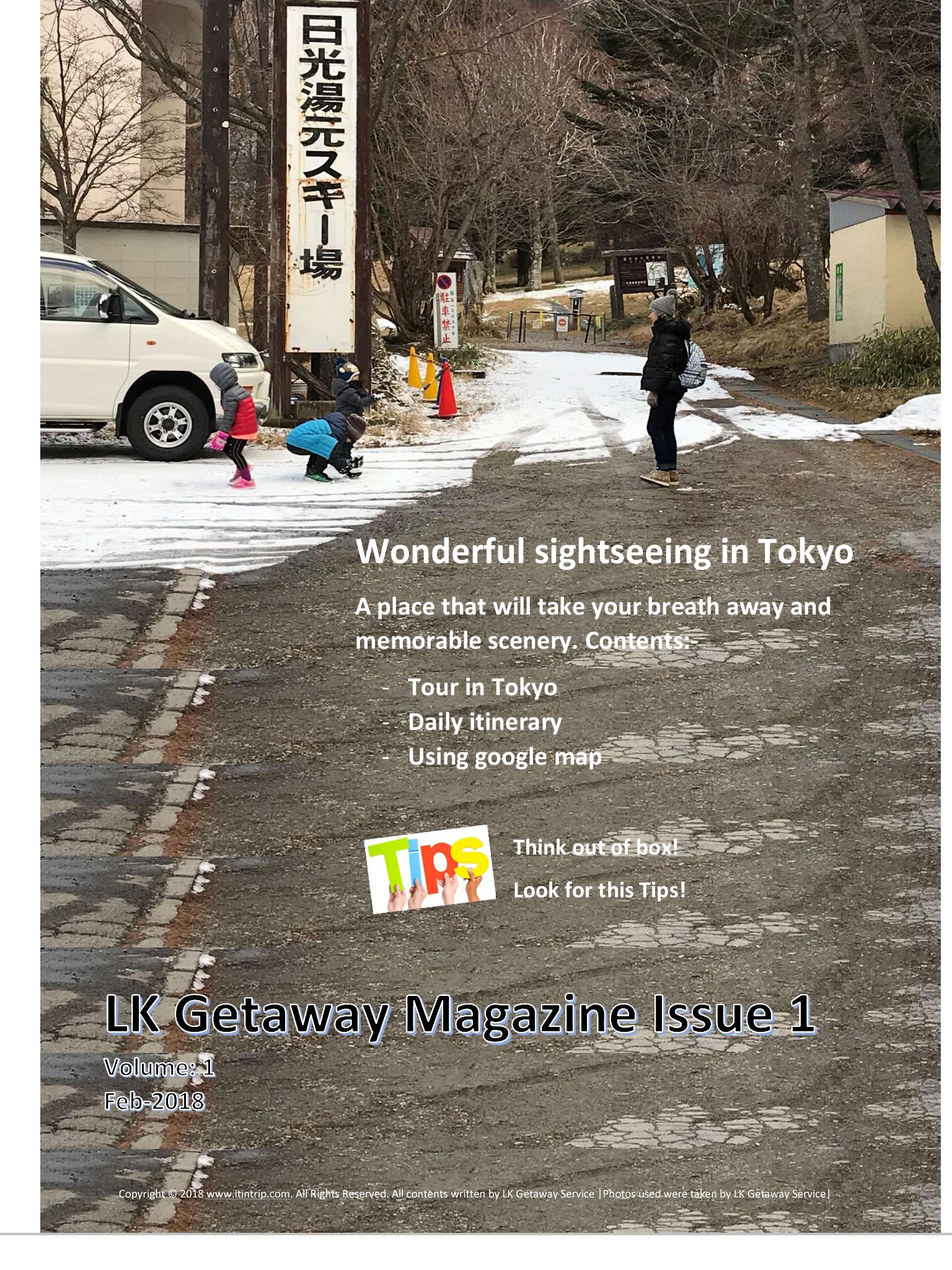LK Getaway Magazine (Issue 1)