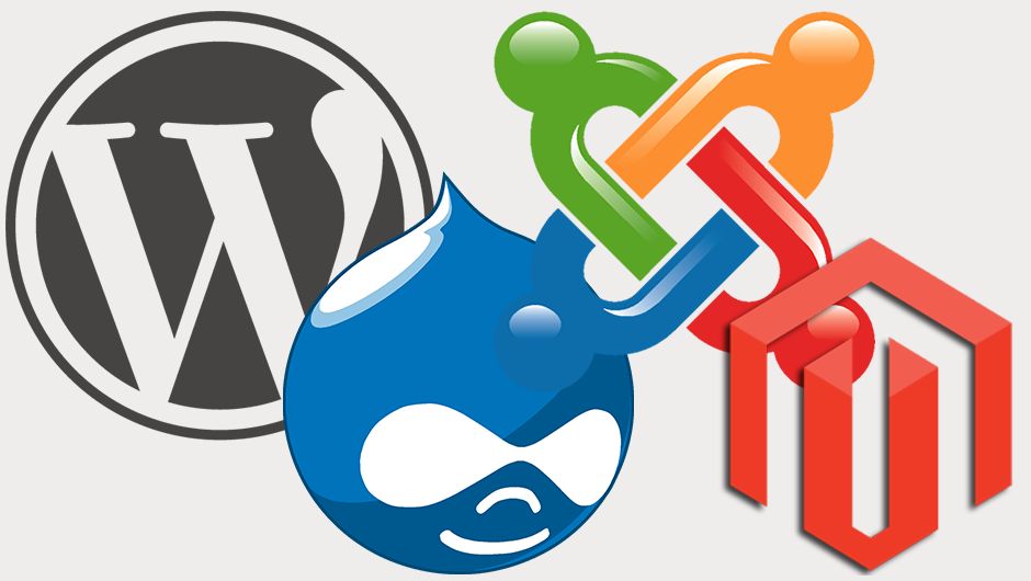 Install any type of free PHP CMS on your host