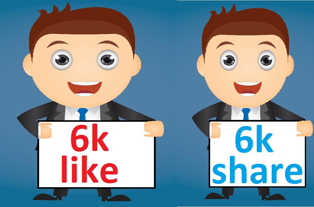 12,000 Social Signals Come From Top 1 Social Media Sites