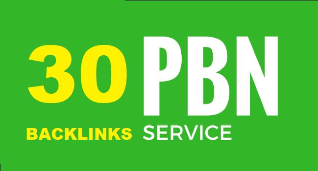 Offer 30 PBN Backlinks DA 20+ and TF 20+To Skyrocket you SERP
