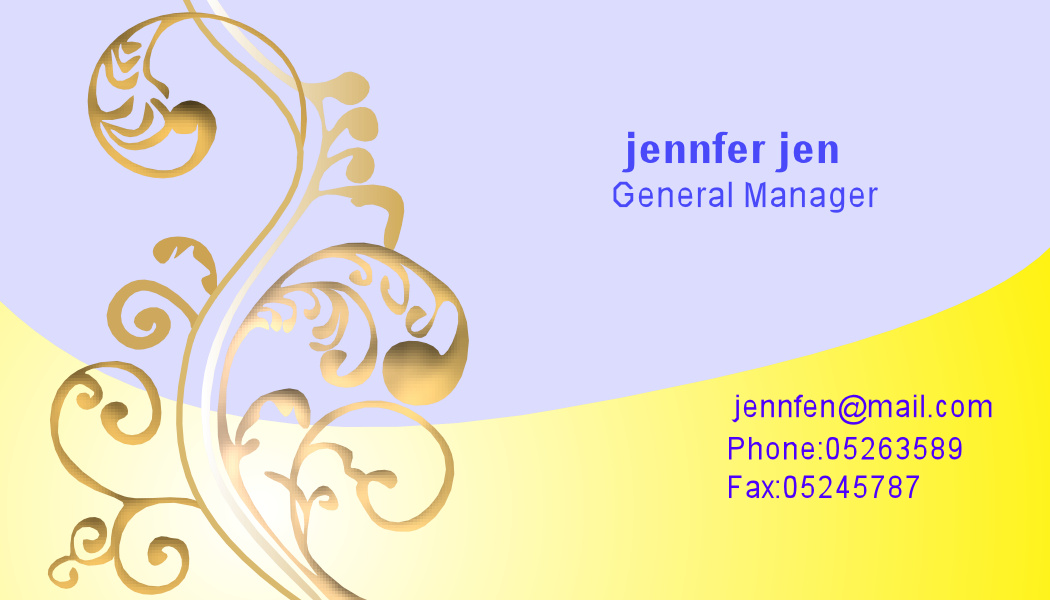 Business Card Design#