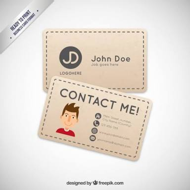 Business Card. show your bussiness personality.