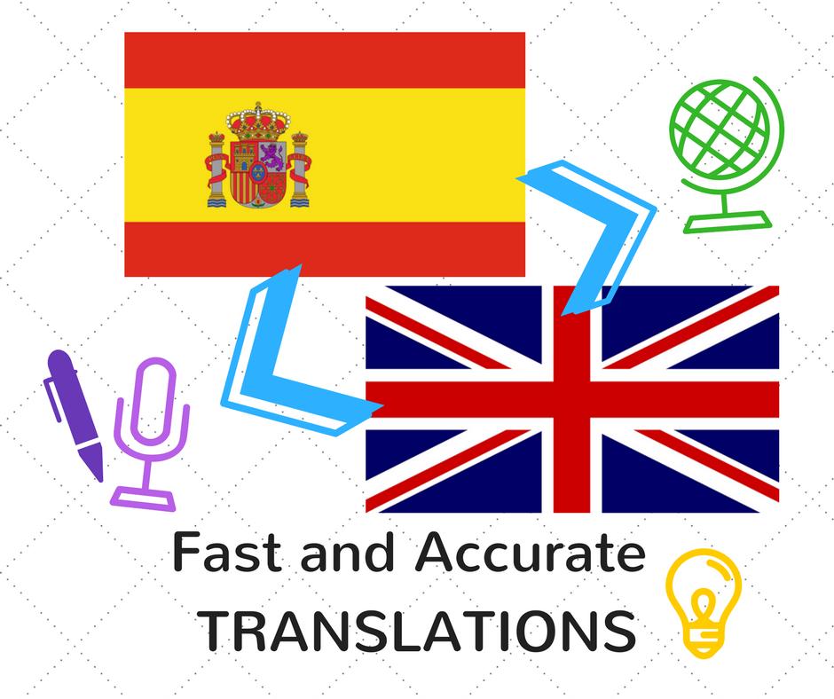Translation English/Spanish