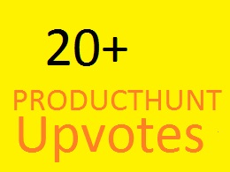 20+ Worldwide Producthunt Upvotes