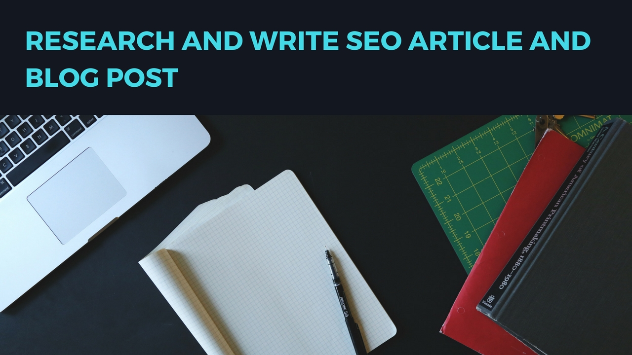 I research and write up to 600 words seo article