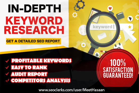 Will Do Professional Keyword Research For Your Website