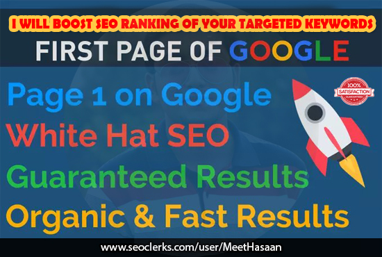 Will Boost SEO Ranking Of Your Targeted Keywords