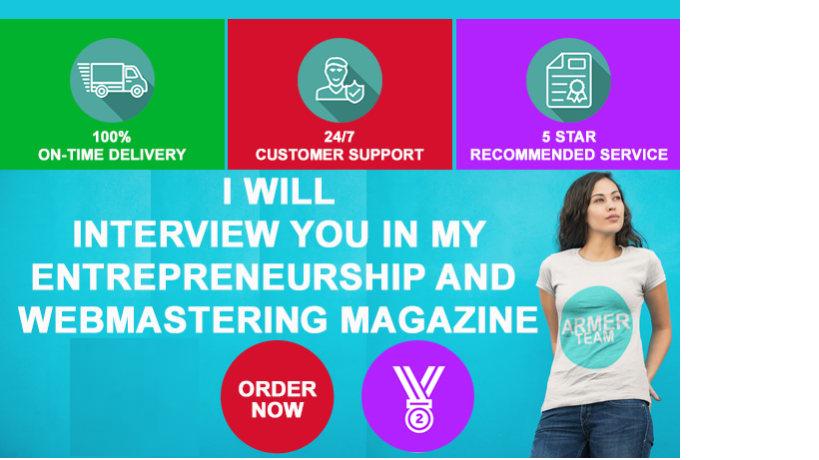 Interview You In My Entrepreneurship Blog Magazine