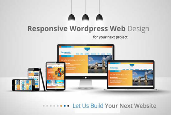 Create A Professional Wordpress Website,  Blog,  E-commerce store