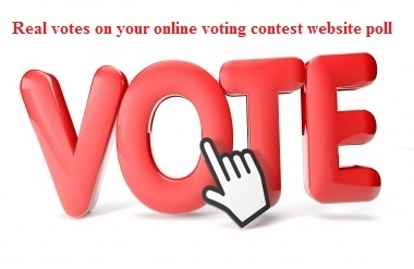 give you 150 genuine votes to your entry to any poll website contest