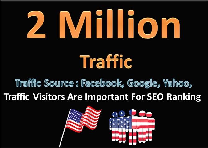 2 Million Social media Traffic Visitors Important For SEO Ranking