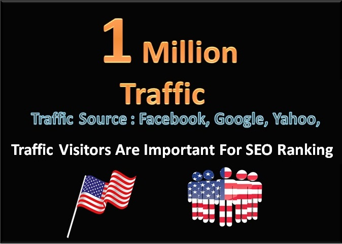 1 Million Traffic Target Human Visitors To your Website