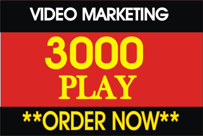 3000+ youtube high retention spitable vieews in your video