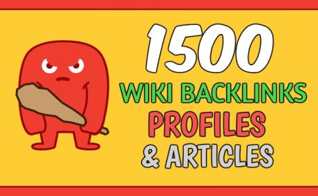Get 1,500 Wiki Article Each Article Have 3 Backlinks
