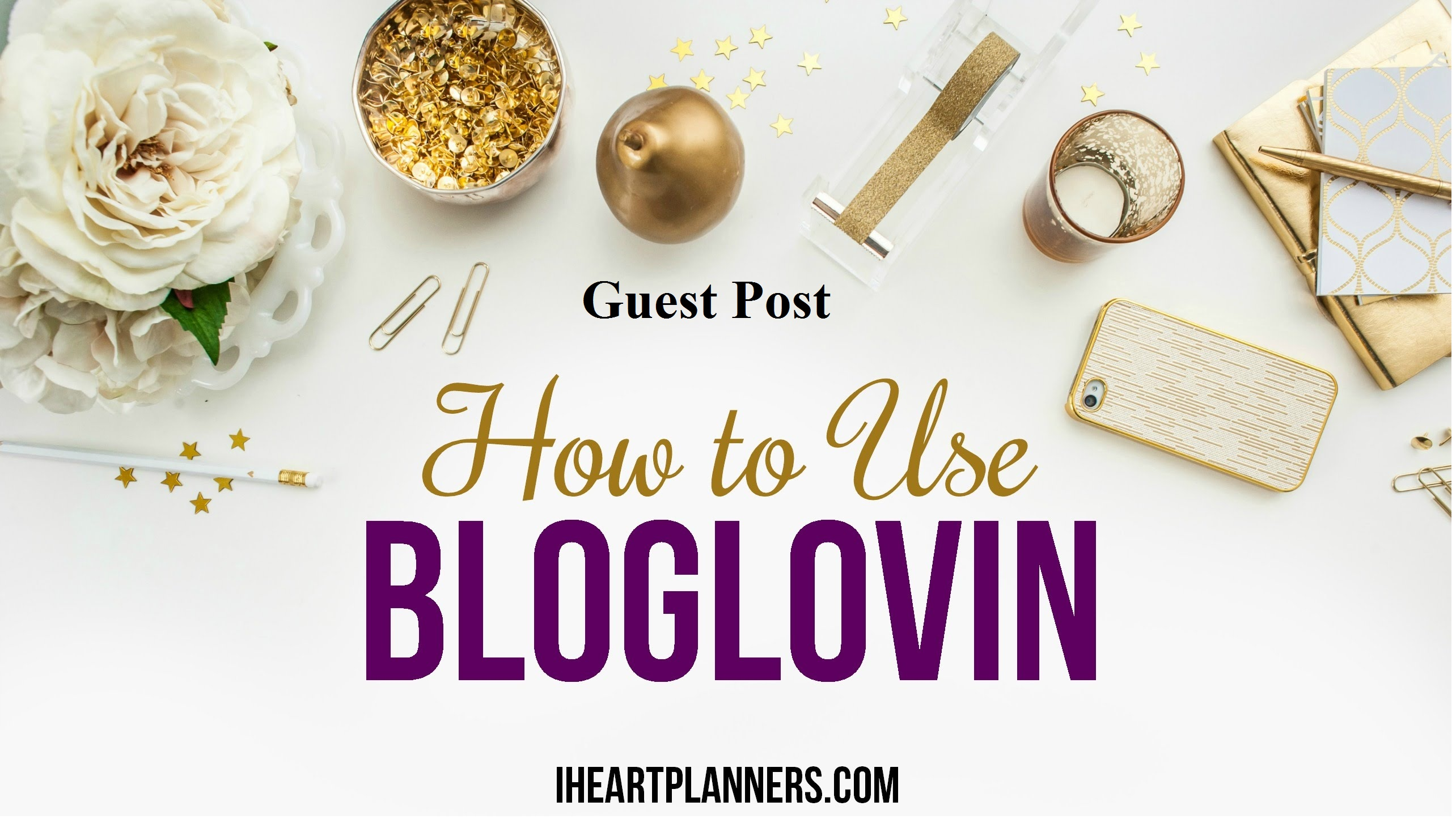 Publish a guest post on Bloglovin with Google Indexable