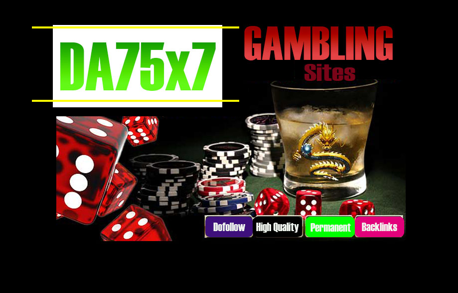 Give Your Backlink On 7xDA75 Gambling Blogroll Dofollow