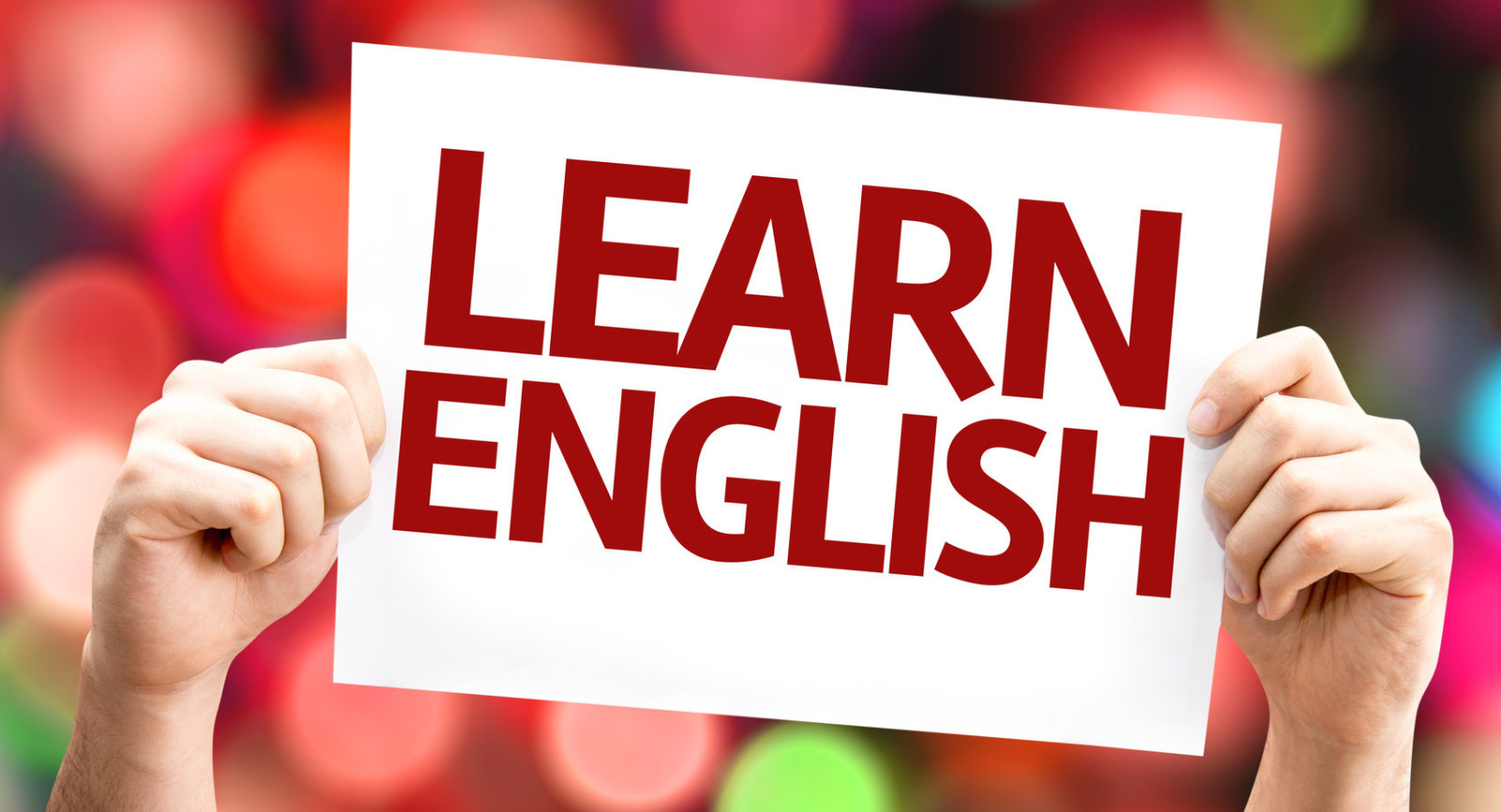 Would you like to learn English,  moving to NorthAmerica