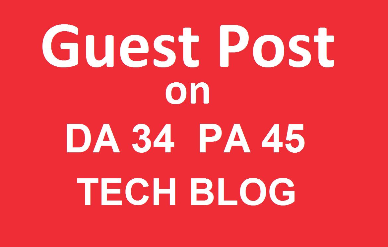 Publish a guest post on Techwebspace Technology Blog