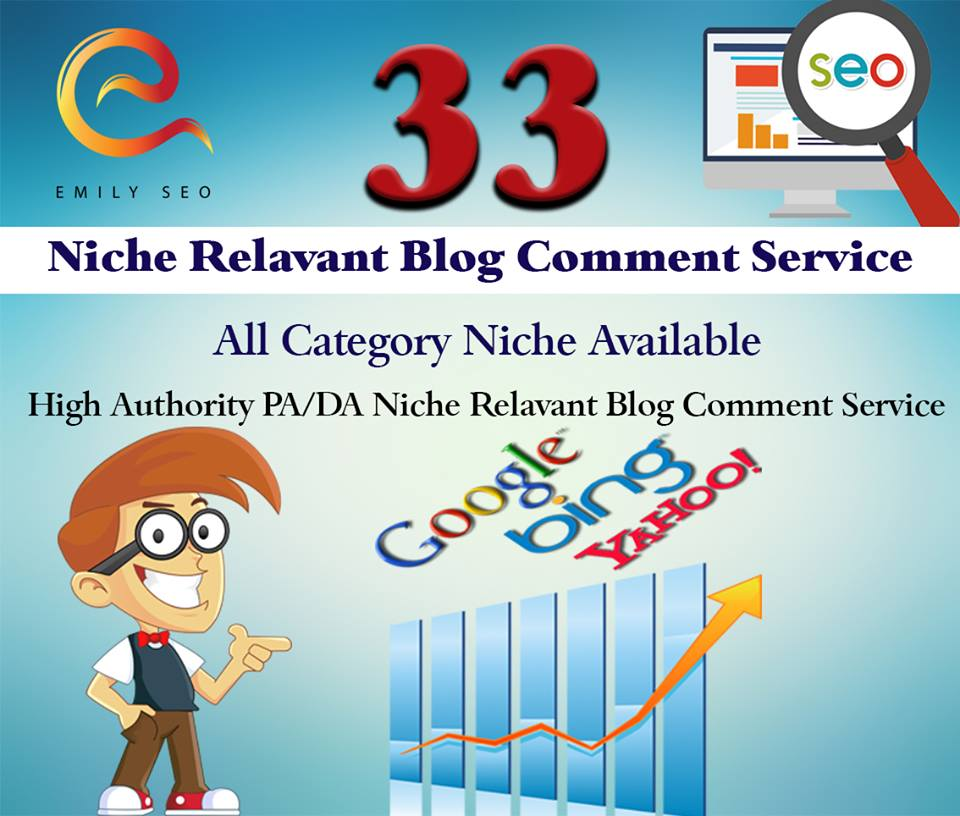 i offering niche relevant approved Blog Comment High pr powerful backlink traffic for just