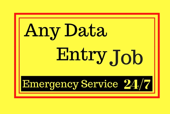 do data entry and data entry jobs